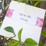 Pink Roses Wedding Invitations