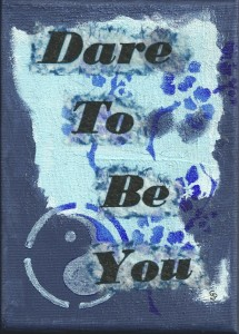 dare to be you blue