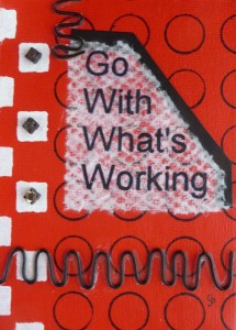 go with whats working red