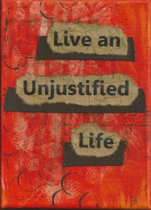 unjustified life orange