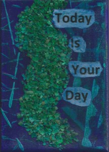 your day blue green