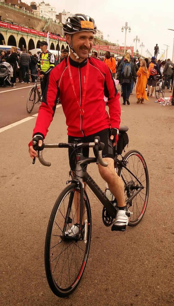 John London to Brighton Bike Ride June 2013