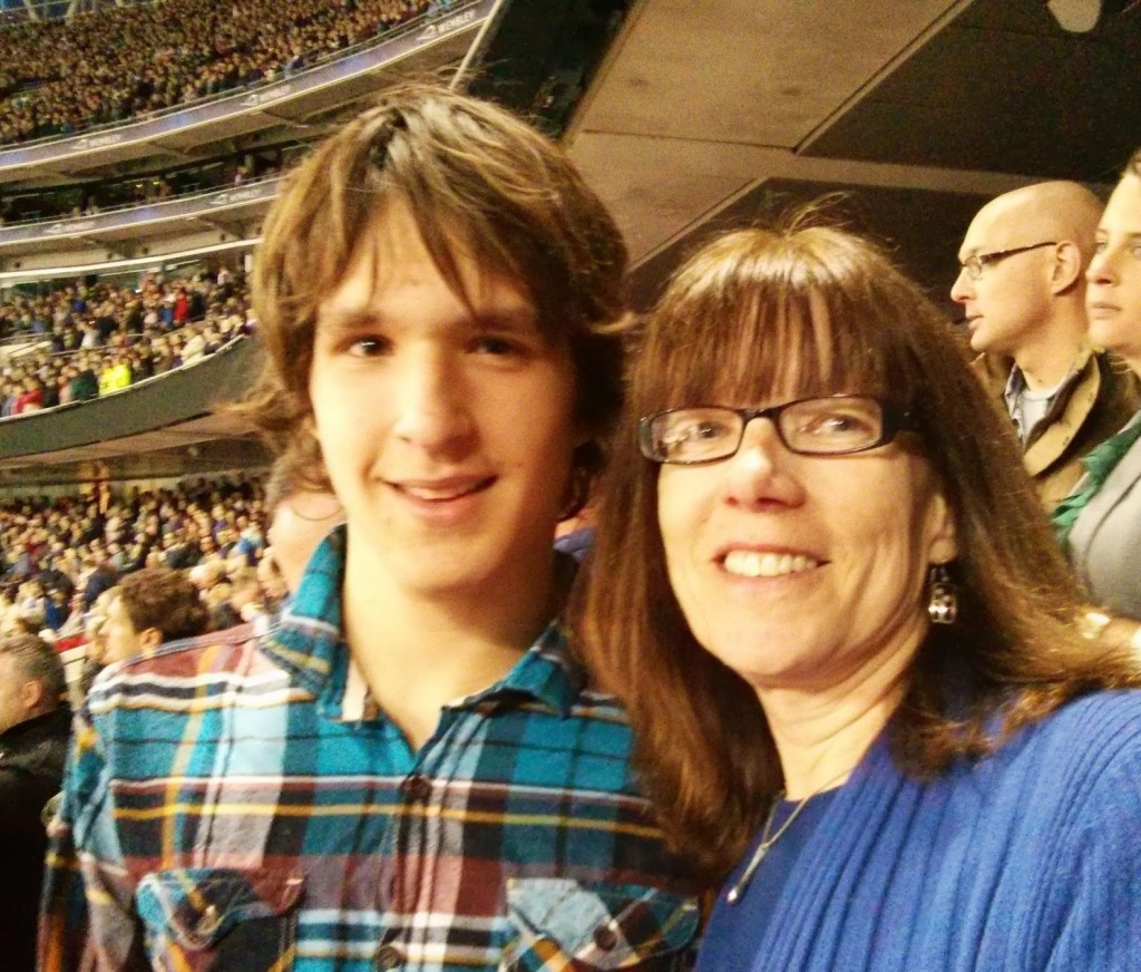 Prentice and Gillian at Bruce Springsteen Wembley