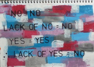 Lack Of Yes Equals No