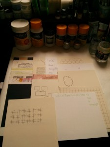 Pictureka Board Game Journal Pages