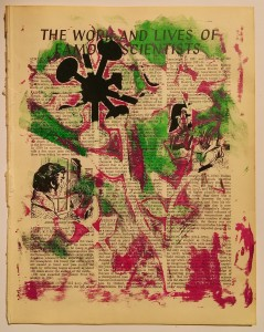 Cut Outs On Gelli Plate Print 3