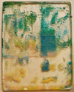 Dirty Gelli Plate