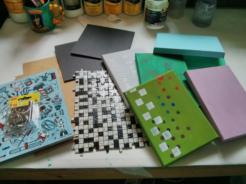 Journal Jigsaw and Mini Art